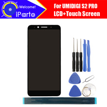 6.0 inch UMIDIGI S2 PRO LCD Display+Touch Screen Digitizer Assembly 100% Original New LCD+Touch Digitizer for S2 PRO+Tools