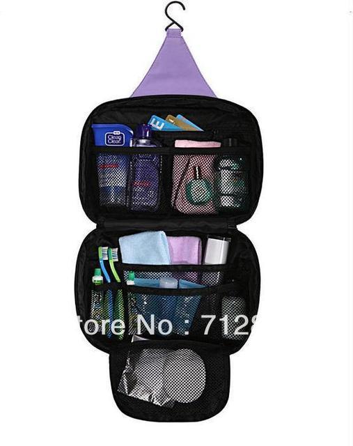 1PC Mens/Ladies Travel Toiletry Wash Bag Makeup Case Hang Storage Wash Canvas Bag