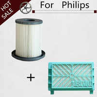 High Quality Can Track 2pcs Hepa Filter For Philips FC8732 FC8734 FC8736 FC8738 FC8740 FC8748 Free Post