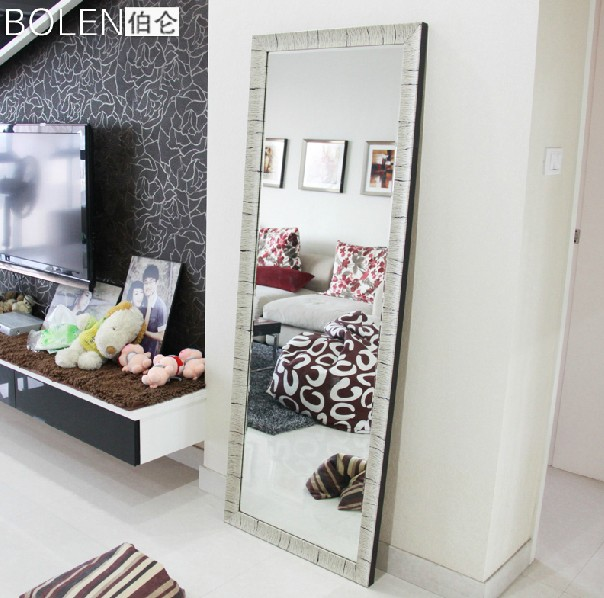 Full Body Wall Mirror popular home used wall mirror full length mirror-in decorative