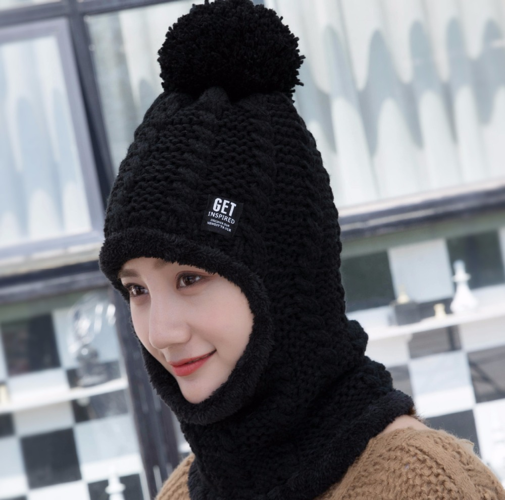 Winter Hat Top Fashion 2017 New Autumn Toca Gorros Beanie Winter Knitting Wool Hat Casual Caps Women Beanies Knitted Gorro Warm simplee knitting wool ball skullies beanies casual streetwear warm hat cap women autumn winter 2017 cute beanie hat female