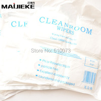 200PCS Bag Soft Cleanroom Wiper Cleaning Non Dust Cloth Dust Free Paper Clean LCD Repair Tool