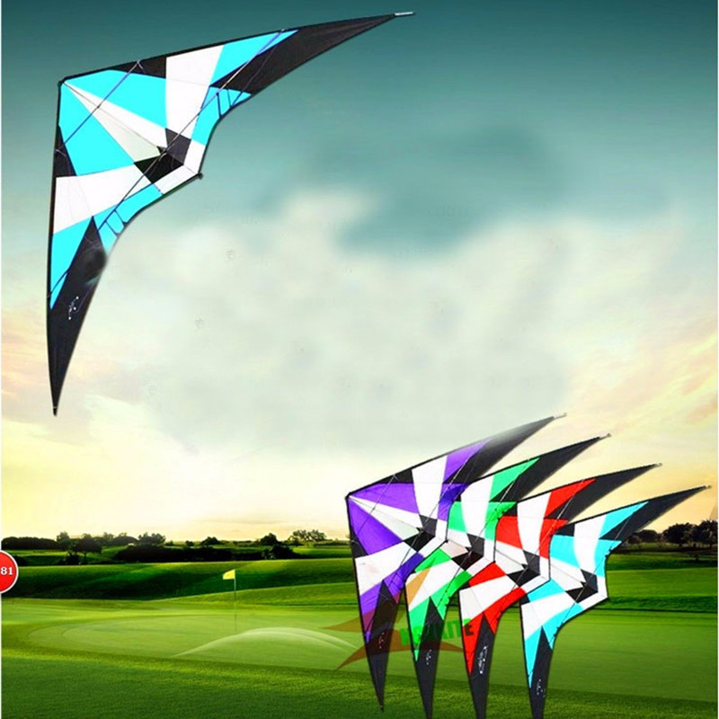 Free Shipping High Quality 1.8m Power Professional Dual Line Stunt Kite Outdoor Sport Power Kite Flying Tools Albatross Kite