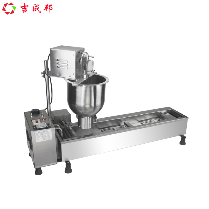 450PCS/H Heavy Duty Stainless Steel 110v 220v Electric Automatic Doughnut Donut Machine Maker Fryer salter air fryer home high capacity multifunction no smoke chicken wings fries machine intelligent electric fryer