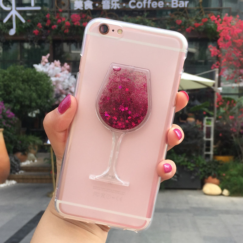 Glitter Quicksand Perfume Glass Phone Cases Cover for <font><b>LG</b></font> K3 Lte <font><b>K100</b></font> K100DS 4G Case Bling Girl Cute Soft Silicon Back Cover image