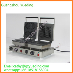 Quality Heart Shaped Electric Waffle Making Machine Commercial Use made in china