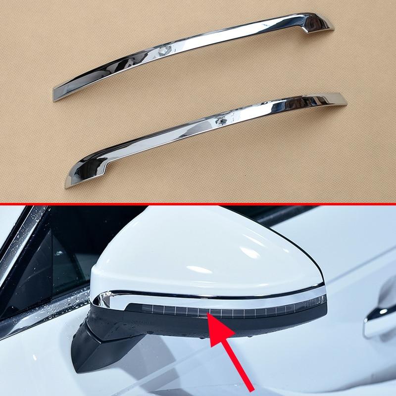 Chrome Side Mirror Strips For Audi A4 B9 Sedan Avant