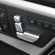 Автокресло Кнопка регулировки Накладка для Mercedes Benz W246 W212 218 W146 X204 X156 B CLS gla GLK ML класса аксессуары для стайлинга автомобилей
