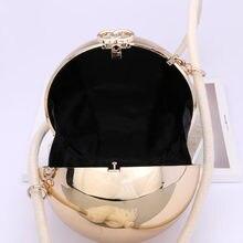UKQLING Brand Ball Round Bag Minaudiere Evening Hand Bag Tote Purse Handbag Messenger Bags Lady Sac Party Dollar Price
