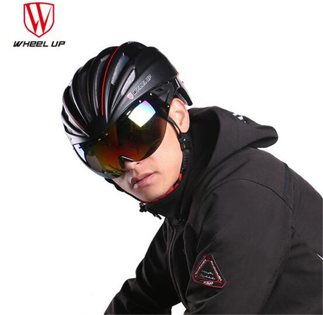 Wheel Up Bicycle Bike Aerodynamic Eps Pc Material Lens Cycling