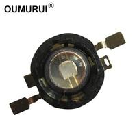 Free Shipping 50PCS 3w 5W High Power LED Purple Lamp UV Light 45mil Chip High Lumious
