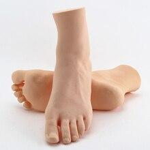 Soft Plastic Pedicure Mannequin