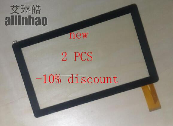 ailinhao 7 inch New ZJ-70010A Touch Screen Digitizer Glass for Thomson QM734 QM735 tablet PC Touch Screen Free shipping 15pcs lot 100% orginal new 7 tablet touch screen capacitance screen dr1657 d free shipping