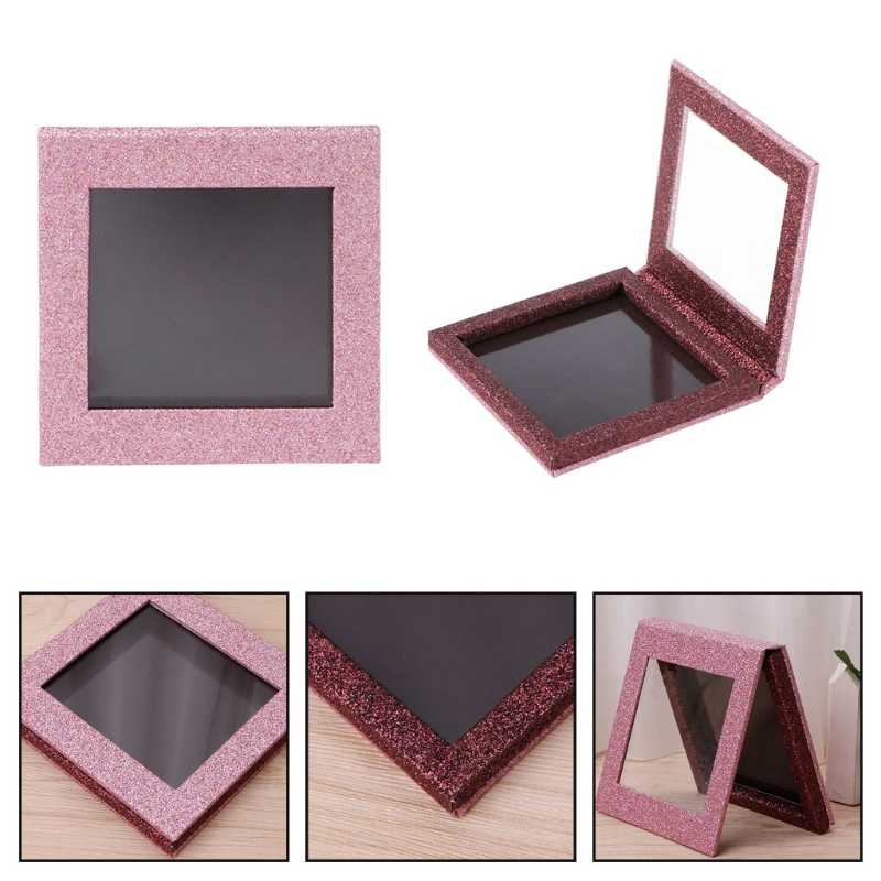 Fish Scale Empty Magnetic Makeup Palette DIY Eyeshadow Concealer Case Holder