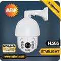 Alta qualidade sony 185 starlight h.265 ip câmera ptz full hd 2MP Câmera Dome de Alta Velocidade com Zoom de 20X IP À Prova D' Água 66 de Segurança câmera