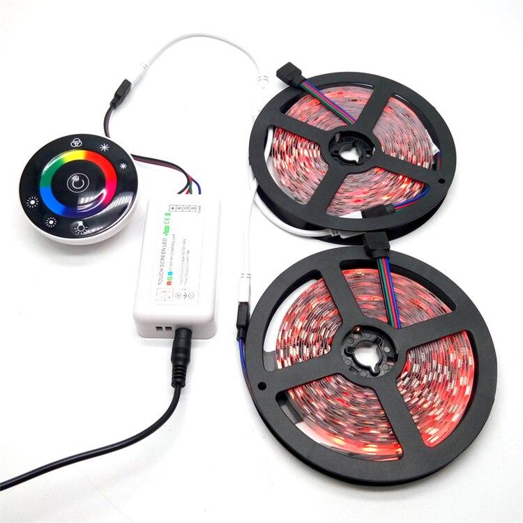 10M SMD 5050 RGB LED ժապավենի հավաքածու 7Keys - LED լուսավորություն - Լուսանկար 4