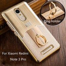 Новые для Xiaomi Redmi Note 3 Pro Чехол Мода Металл Матовый в винтажном стиле с пластиковыми задняя крышка для Xiaomi Redmi Note 3 5.5″