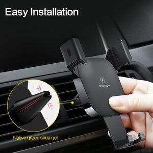 Image 5 - SmartDevil حامل هاتف نقال للسيارة للهاتف الجاذبية رد فعل الهواء تنفيس جبل حامل هاتف الخليوي حامل هاتف الوقوف ل سامسونج Xiaomi