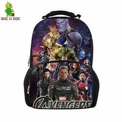 Avengers 17 Cal panie Plecak Student szkoła torby dla nastoletnich torba podróżna Unisex plecaki Plecak Szkolny Mochila Notebook 6