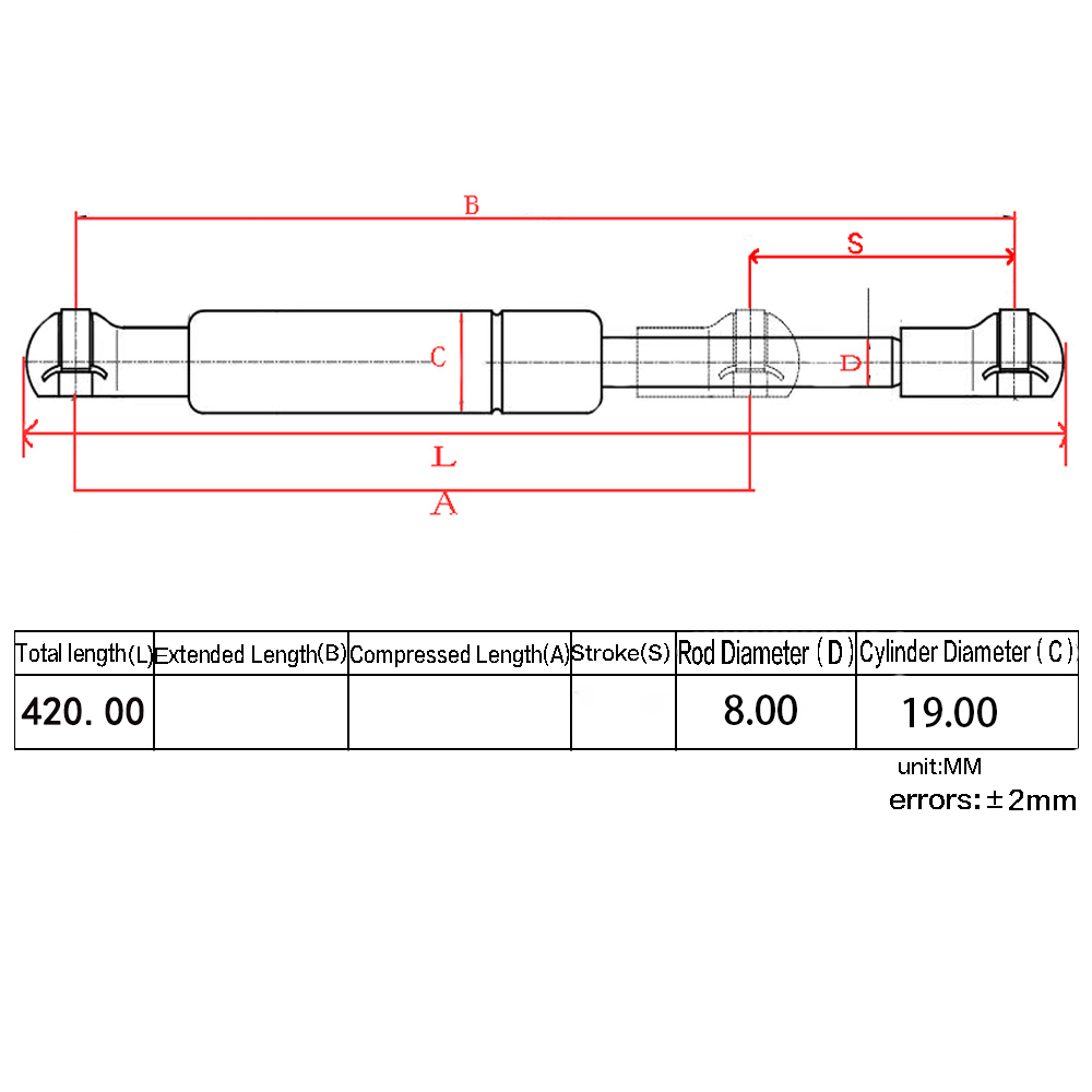 Image 5 - Fit Dodge Ram 2500 3500  DZ43300 SG314900 Tailgate Assist Shock Struts Lift Support-in Shock Absorber& Struts from Automobiles & Motorcycles