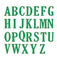 26pcs Set 5cm Large Letters A Z Alphabet Metal Cutting Dies Stencil For DIY Scrapbooking Photo