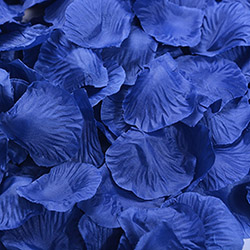 1000 шт./лот, лепестки роз, свадебные, искусственные шелковые цветы, украшения, свадебные, вечерние, цветные, 40 цветов, RP01 - Цвет: dark blue