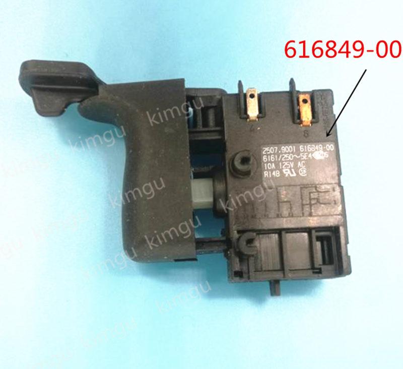 Switch 616849-00 Replace For Dewalt DW292 DW294 DW293 DWM120KSwitch 616849-00 Replace For Dewalt DW292 DW294 DW293 DWM120K