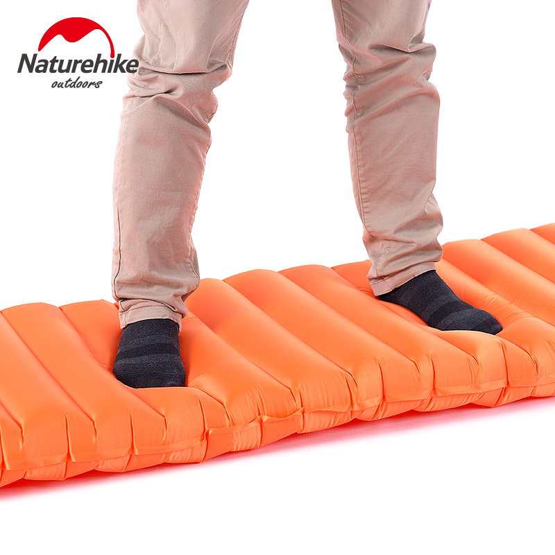 Natyrore Ultralight TPU Camping inflatable Dyshek Folding Sleleep - Kampimi dhe shëtitjet - Foto 3