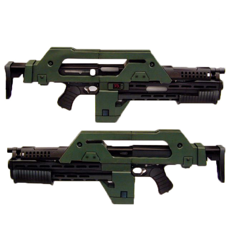 Movie peripheral hobbies DIY Paper Model 1:1 Pulse Rifle M41 A Military Fans Collection Gift 85CM Building Kits Assembly Model