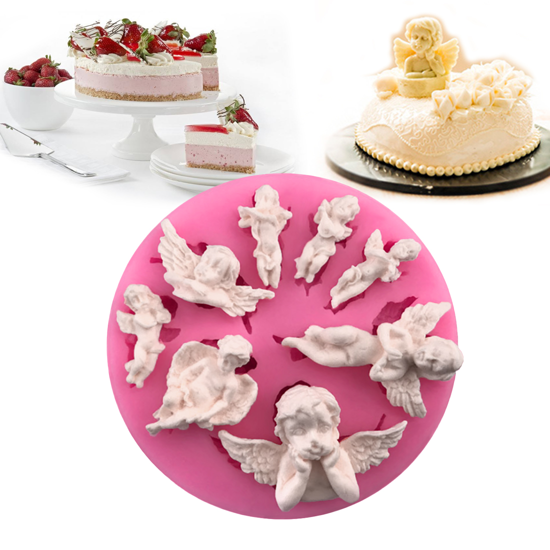 Chocolate Soap Pastry Baking Tools Mold Cake Decoration Kitchen Accessories