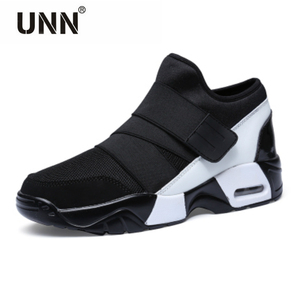 Image 1 - New Unisex Casual Shoe Air Breathable Casual Fashion Krasovki boty calcados obuv Tenisky Flats Height Increasing shoes men