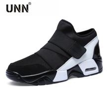Nuovo Unisex Casual Scarpe Aria Traspirante Moda Casual Krasovki boty calçados obuv Tenisky Appartamenti Altezza Crescente scarpe uomo