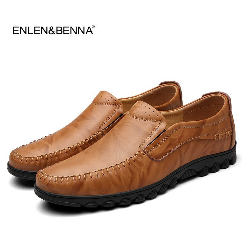 Boat Shoes Men's Genuine Leather Shoes Handmade Driving Shoes New Fashion Casual Shoes Brand Design Flats Breadthable Loafers линолеум tarkett sprint pro baden 2 4м