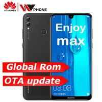 Huawei y max Godere max 4G 64G snapdragon 660 Octa core Dual Anteriore Posteriore Della Macchina Fotografica da 7.12 pollici 5000 mAh