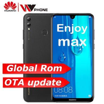 huawei y max Enjoy max 4G 64G snapdragon 660 Octa core Dual Front Rear Camera 7.12 inch 5000 mAh