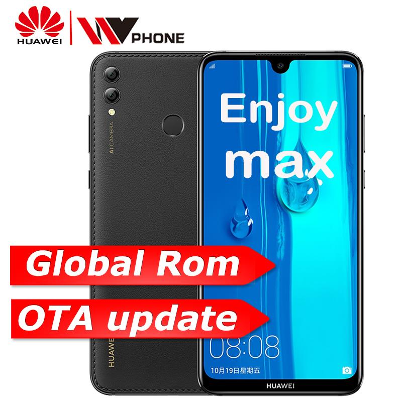 Huawei y max Gosta de max 4G 64G snapdragon 660 Octa Dual core Câmera Frontal Traseira 7.12 polegada 5000 mAh