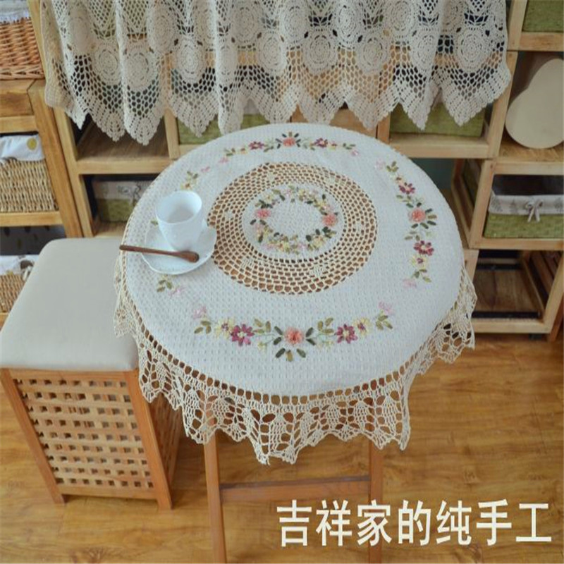 Buy free shipping 85cm square crochet for 85 square tablecloth