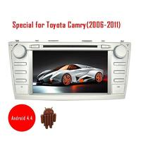 Car Radio Android 4 4 For Toyota Camry 2006 2011 In Dash Car Deck DVD Gps