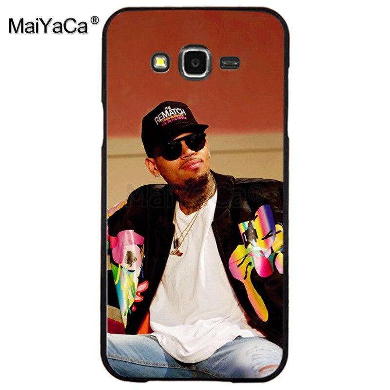 , MaiYaCa Chris Brown Breezy Luxury High-end phone Accessories for samsung j7 j8 j6 j2pro a9 a6 a8 case coque