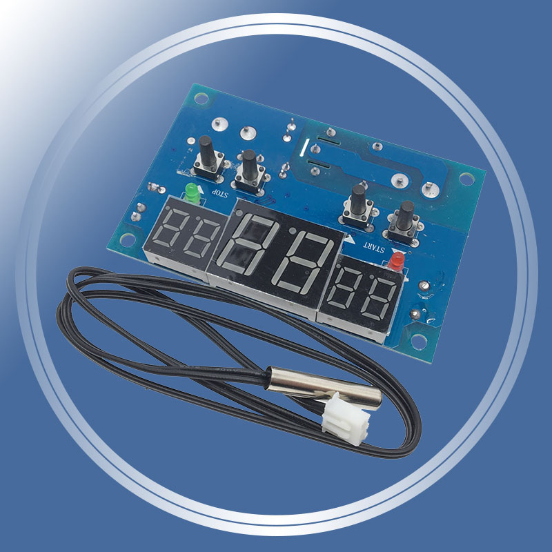 Dc12v Digitale Thermostat Intelligente Temp Control-9 Zu 99 Celsius Temperatur Controller Mit Ntc Sensor W1401 Dropshipping Temperatur Instrumente Werkzeuge