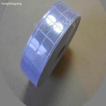 Светло фиолетовая светоотражающая ткань лента для одежды шириной