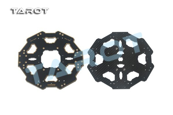 Tarot Tarot Carbon Fiber Folded Six-axis Center Plate for Hexacopter Tarot 680 PRO TL68P01 tarot 3k carbon fiber plate 3 5mm tl2900 tarot parts free shipping with tracking