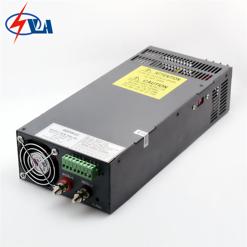 SCN-600-24 ac to dc Non-waterproof switching power converter 600W 24V 25A power supply input by switch limit switches scn 1633sc