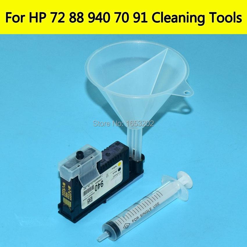 Druckkopf Reinigungswerkzeuge Für HP940 706 88 70 72 91 Druck kopf Düse Für HP D5800 Z2100 Z5200 Z6100 850 1200 8500 drucker