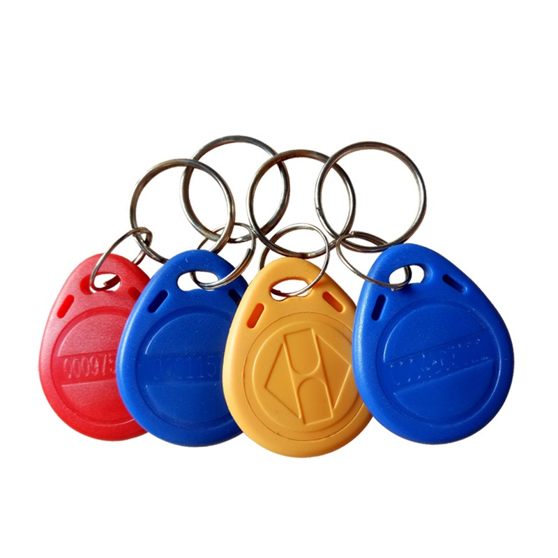 Proximity RFID 125KHz Card Tag TK4100 EM4100 EM ID Token Tags Key fobs Ring RFID Card for Access Control Time Attendance System non standard die cut plastic combo cards die cut greeting card one big card with 3 mini key tag card