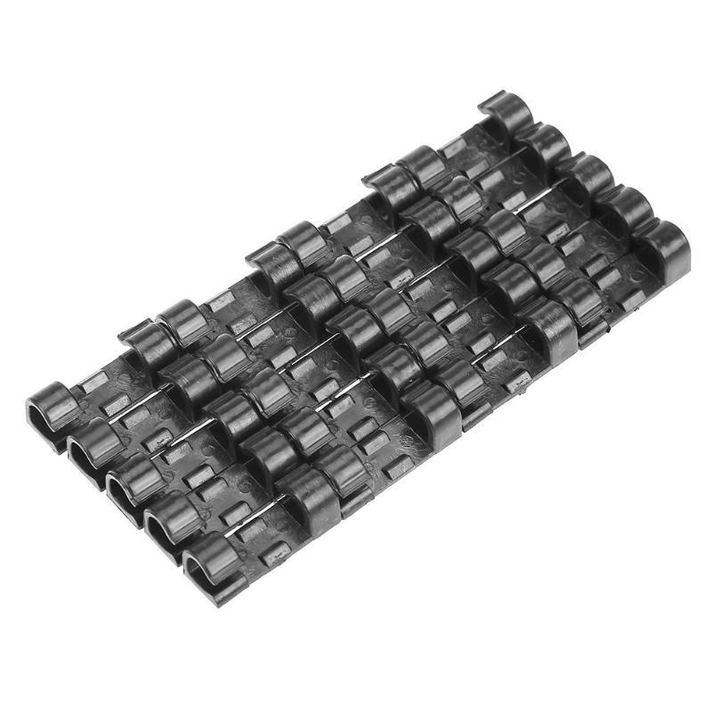 20pcs Wall Cable Winder Fastener Line Clasp Wire Cord Clip Tie Fixer ...
