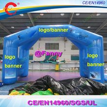 0d829e97f custom logo pvc Inflatable Arch inflatable race archway for sports inflatable  start finish line gate archway