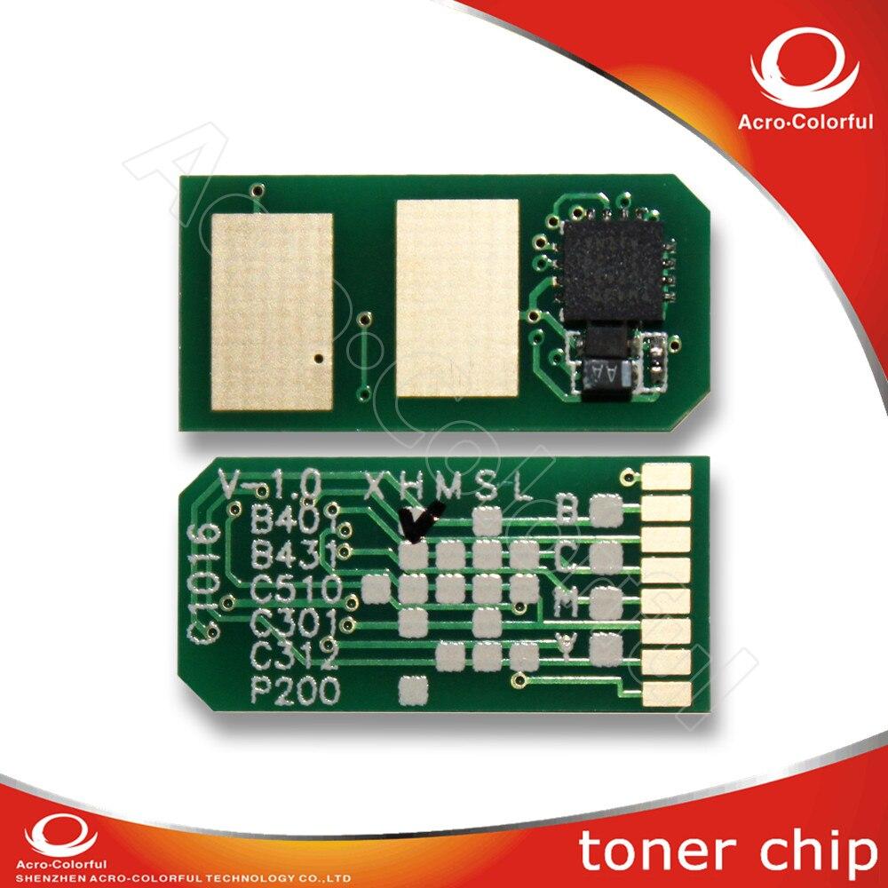 Toner cartridge chip for OKI MC562DN MC562DNW C531DN C511DN reset laser printer chip JP Version toner cartridge for oki 01279001 with chip for oki b710n 710dn 720n 720dn 730n 730dn