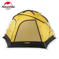 Naturehike Фабрика магазин облако взрыв укрытие 8-10 человек палатка для Семья команды большой палатка 2 в 1 палатка тент