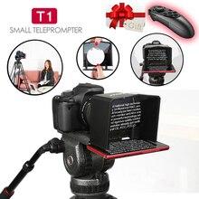 Bestview T1 smartfon Teleprompter do aparatu Canon Nikon Sony Studio fotograficzne wideo T1 Teleprompter DSLR do wywiadu z Youtube